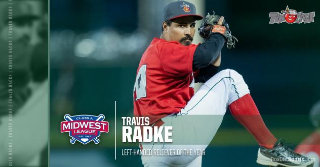 Fort Wayne TinCaps pitcher Travis Radke