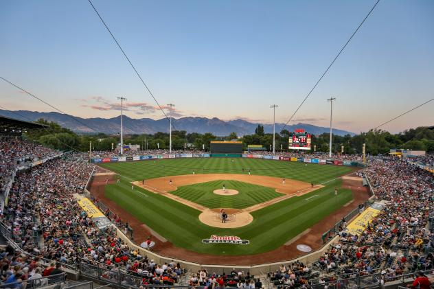 Smith's Ballpark, home of the Salt Lake Bees