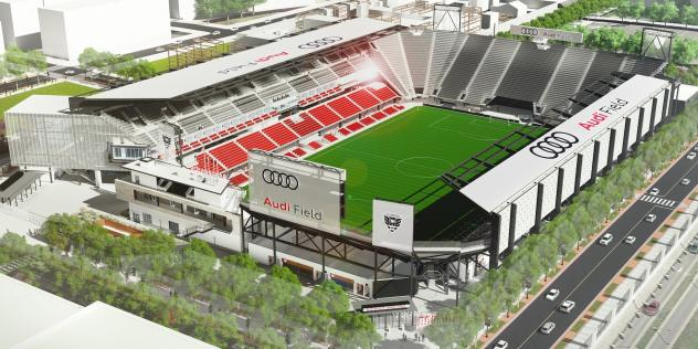 Audi Field, home of D.C. United