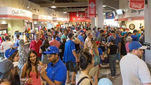 A crowd at Scotiabank Field