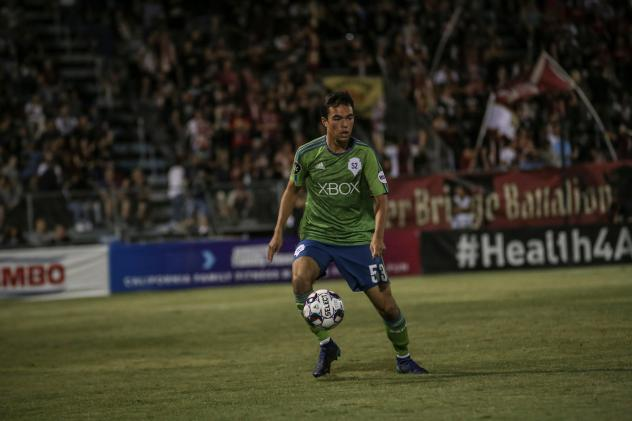 Seattle Sounders FC 2 Enrique Montana vs. Sacramento Republic FC