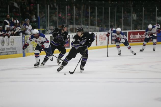 Tri-City Storm forward Chase McLane