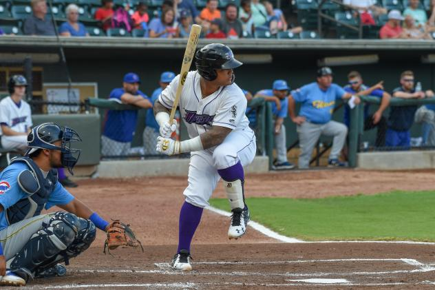 Winston-Salem Dash catcher Yermin Mercedes