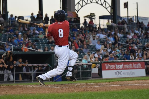 New Hampshire Fisher Cats catcher Patrick Cantwell