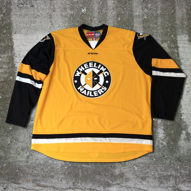 Wheeling Nailers alternate jersey