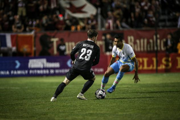 Jure Matjasic of Sacramento Republic FC vs. Las Vegas Lights FC