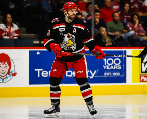 Grand Rapids Griffins defenseman Brian Lashoff