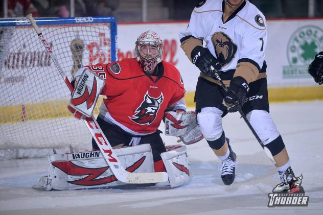 Adirondack Thunder goaltender Cam Johnson