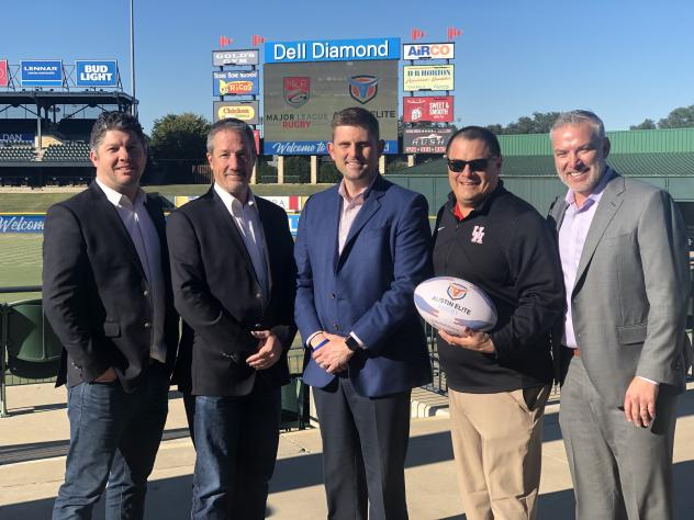 Austin Elite Rugby Selects Dell Diamond for 2019 Major League Rugby Season