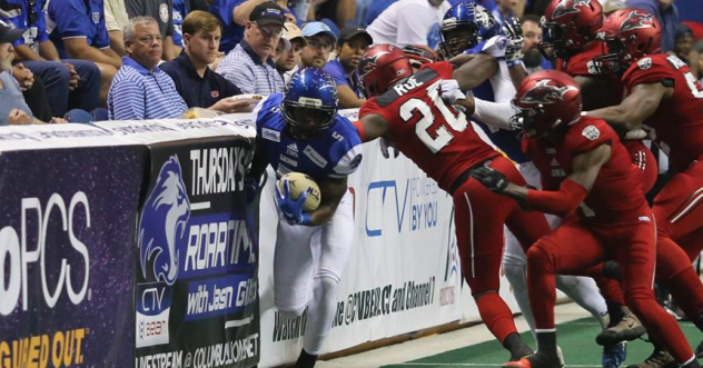 Wide Receiver Durron Neal with the Columbus Lions