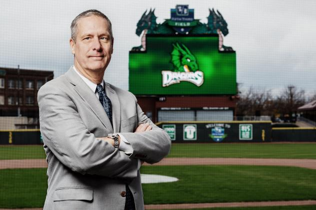 Dayton Dragons President & General Manager Robert Murphy