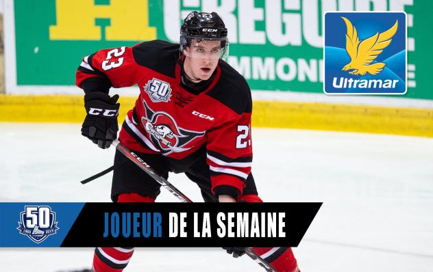 Gregor MacLeod of the Drummondville Voltigeurs