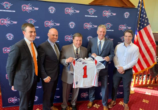 Boston Cannons and City of Quincy announce partnership