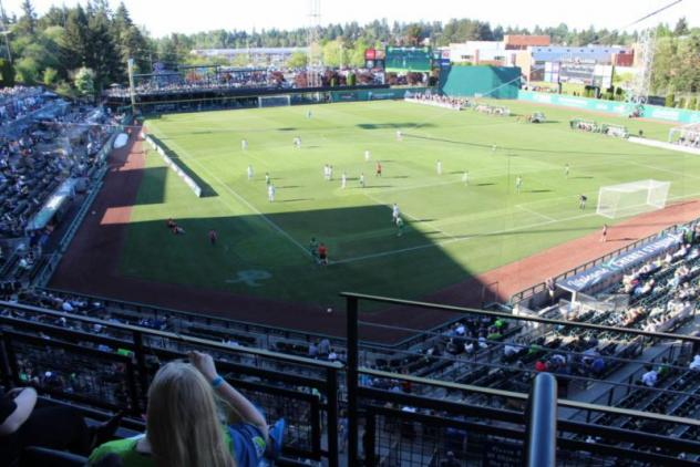 Cheney Stadium, home of Sounders FC 2