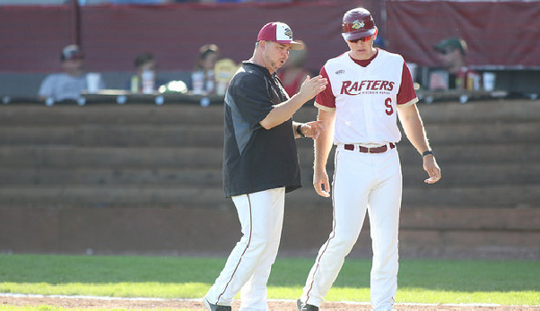 Wisconsin Rapids Rafters field manager Craig Noto