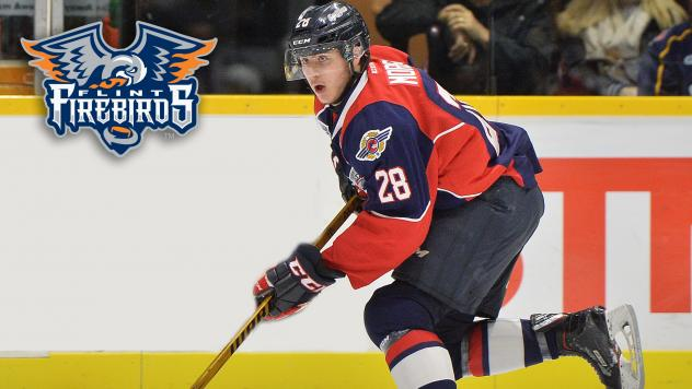 Forward Cody Morgan with the Windsor Spitfires