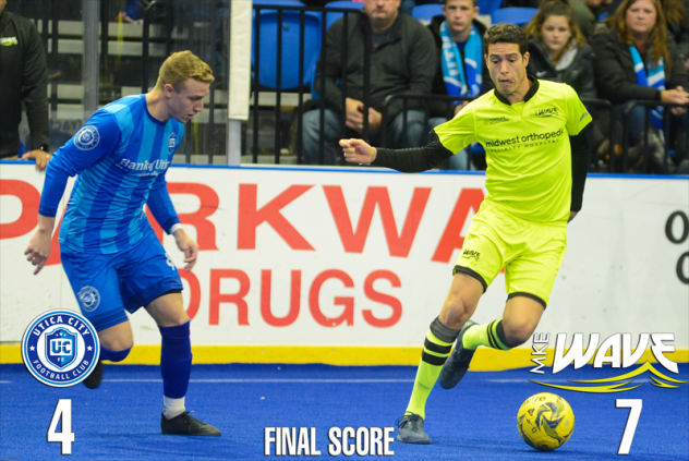 Milwaukee Wave vs. Utica City FC