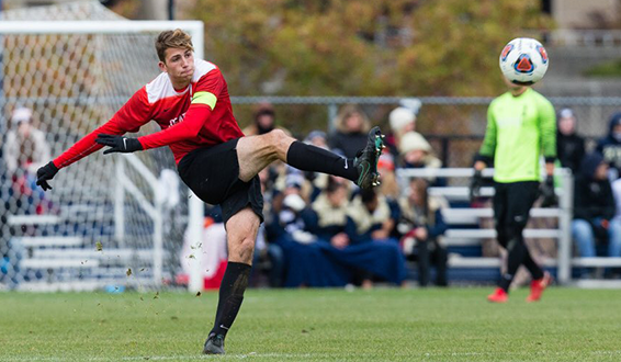 Seattle University defender Nathan Aune