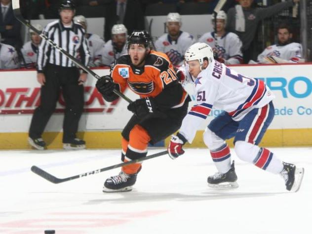 Lehigh Valley Phantoms center Mike Vecchione