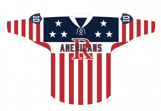 Rochester Americans Hall of Fame Night jersey