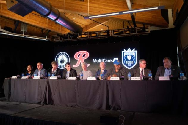 Nine panelists spoke about today's exclusive Tacoma Defiance and Reign FC announcements