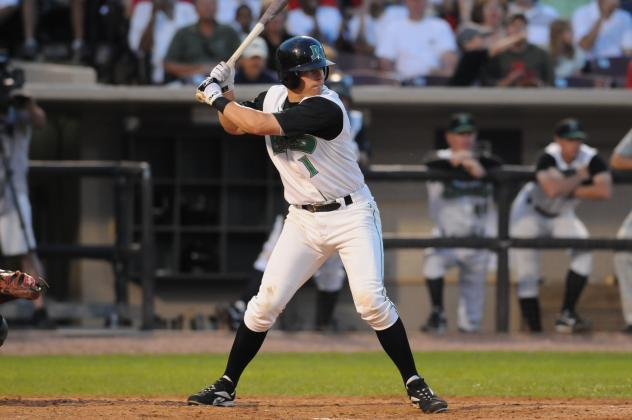 Zack Cozart with the Dayton Dragons
