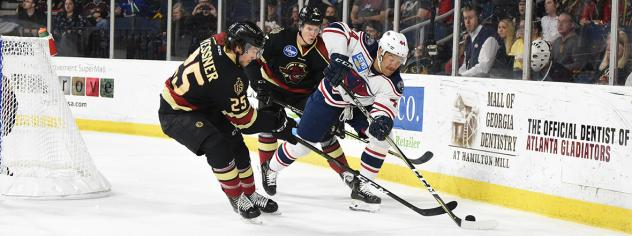 South Carolina Stingrays vs. the Atlanta Gladiators
