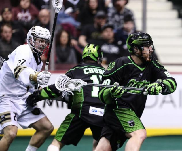 Saskatchewan Rush vs. the Vancouver Warriors