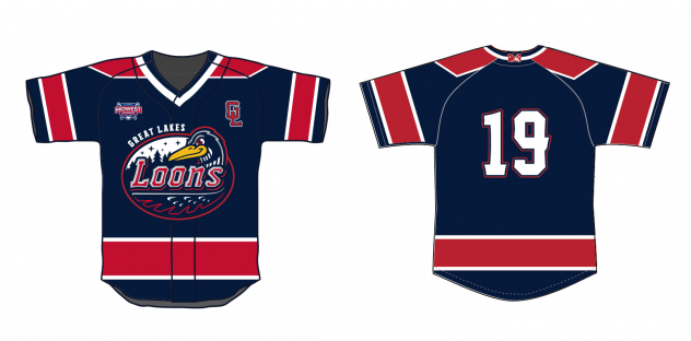 Saginaw Spirit's Great Lakes Loons jerseys