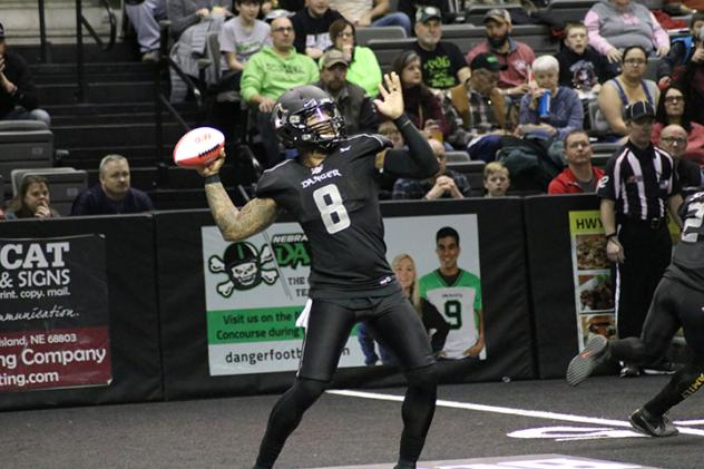 Nebraska Danger quarterback Tommy Armstrong, Jr.