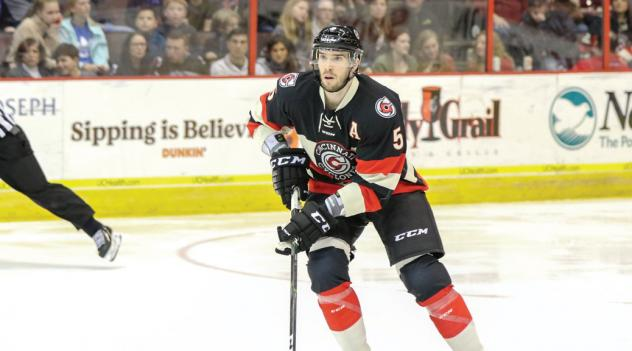 Cincinnati Cyclones defenseman Eric Knodel