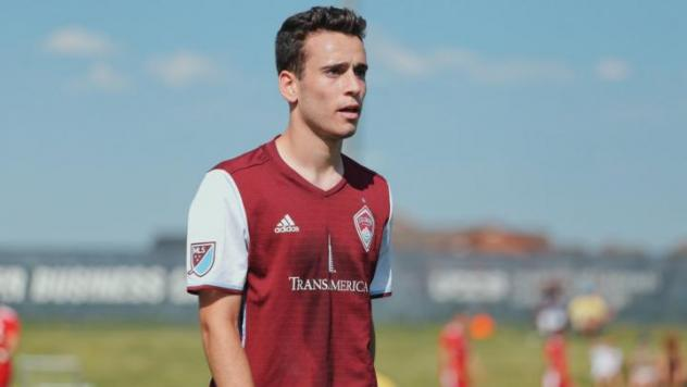 Matt Hundley with the Colorado Rapids