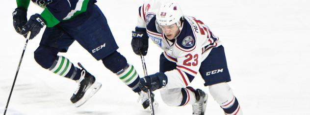 South Carolina Stingrays forward Patrick Megannety