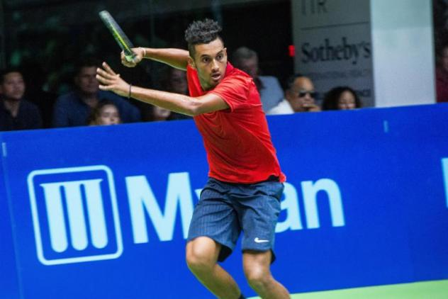 Nick Kyrgios will play the Washington Kastles' last home match of the season