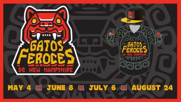 Gatos Feroces logo and uniform