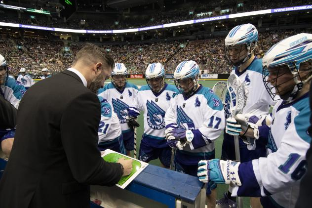 Rochester Knighthawks plan their attack