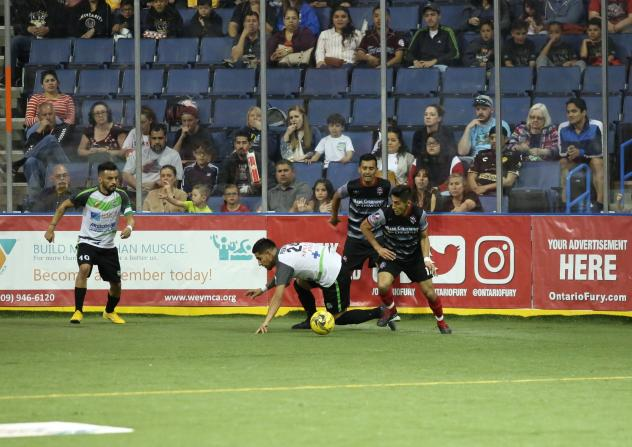 Ontario Fury vs. the El Paso Coyotes