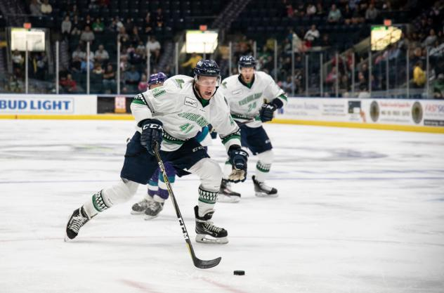 Florida Everblades forward Blake Winiecki