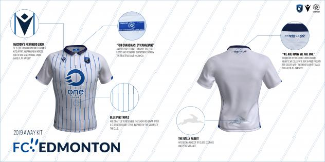 FC Edmonton away kit