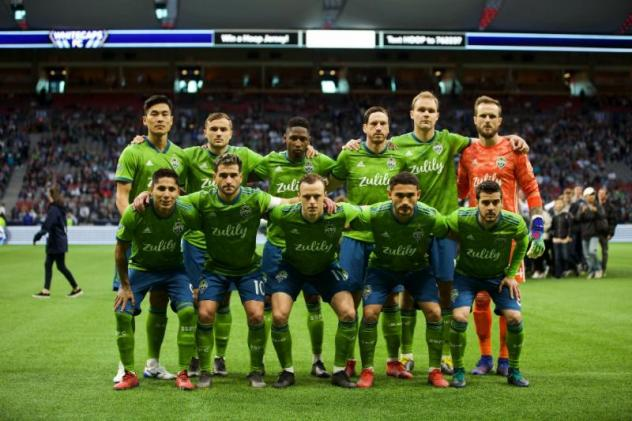 Seattle Sounders FC lineup