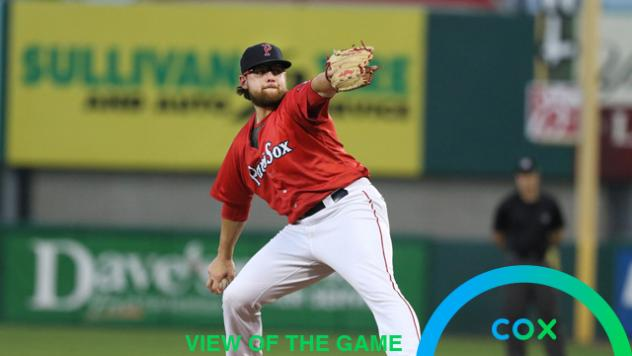 Pawtucket Red Sox pitcher Mike Shawaryn