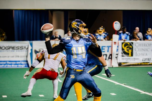 Cedar Rapids River Kings quarterback Kurt Palandech