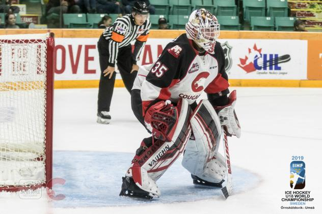 Prince George Cougars goaltender Taylor Gauthier
