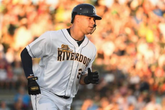 Gary Sanchez with the Charleston RiverDogs