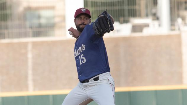 Frisco RoughRiders pitcher Pedro Payano