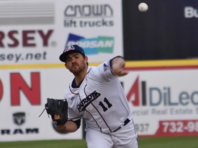 Somerset Patriots pitcher Thomas Dorminy