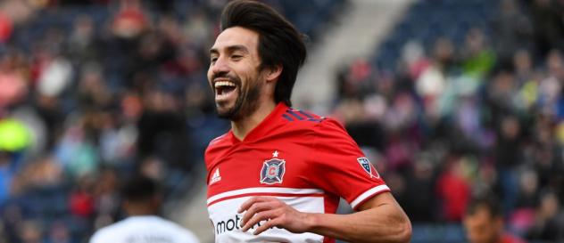 Chicago Fire Midfielder Nicolas Gaitan Voted MLS Player of the Week