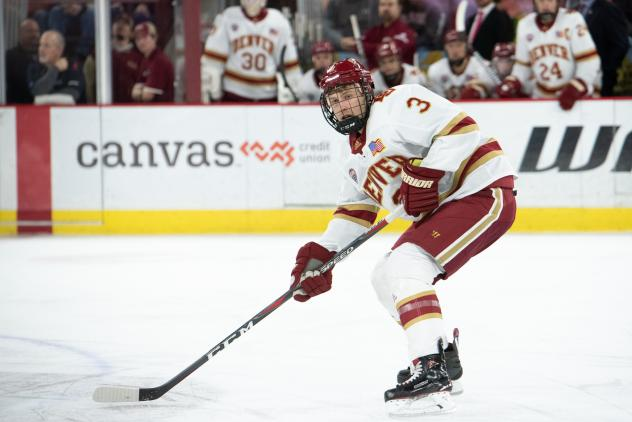 Sean Comrie with the University of Denver