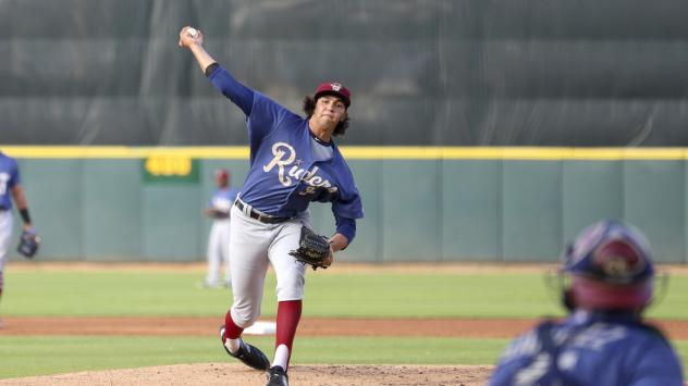 Frisco RoughRiders on the mound