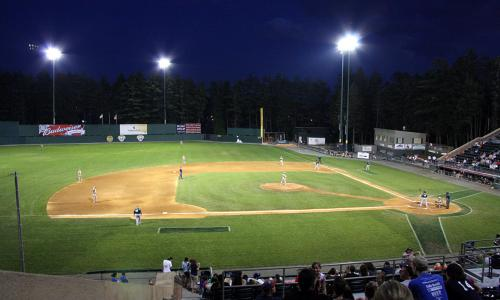 Holman Stadium, home of the Nashua Silver Knights